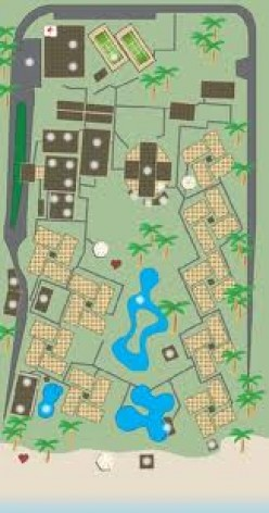 Resort lay out of property