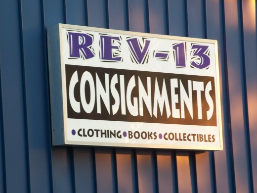 REV-13 CONSIGNMENTS  Consignments could be taken in for a percentage sale and profit