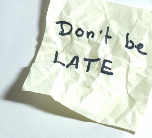Being late to a job interview is as good as giving up on the race before it has even started.