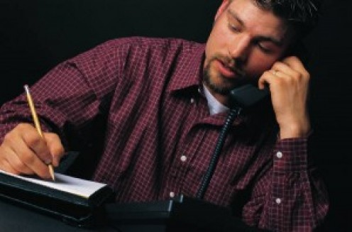 Write down bullet points of the conversation as a way to follow up, after the phone interview.