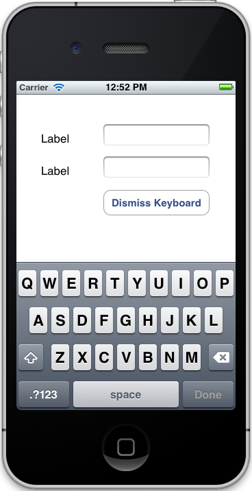 Run the App and Display the Keyboard