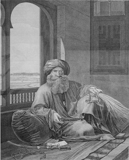 Murad Bey, leader of the Mamluks who regained control of Upper Egypt in 1800.