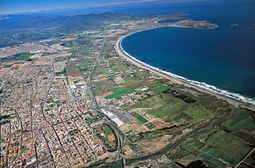 A good view of the La Serena-Coquimbo complex, La Serena, Chile