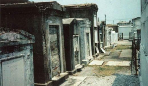 Saint Louis Cemetery No. 1 in New Orleans, LA