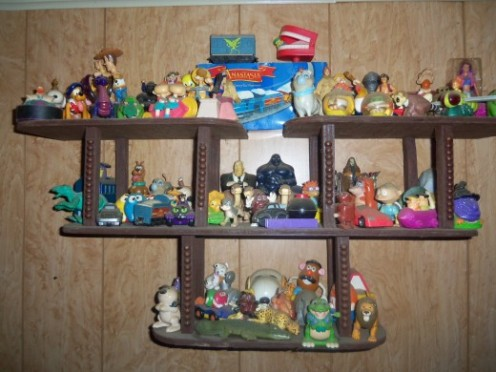 I wanted to throw this photo of a collection of Burger King & McDonald's happy meal toys in with this hub as well, since these toys were also out of their boxes.