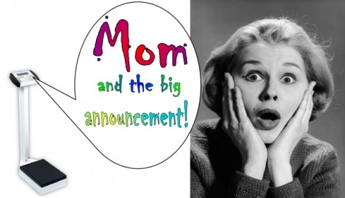 """Mom and the Big Announcement"""