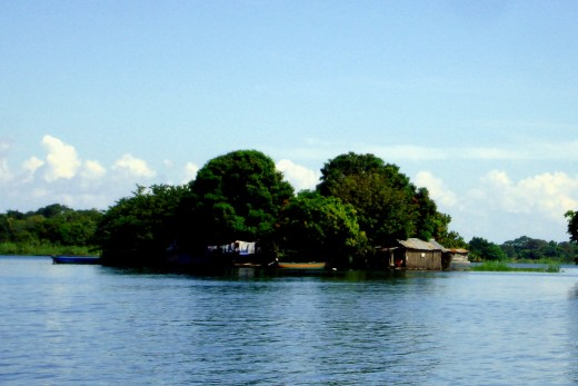 A fishermen community.