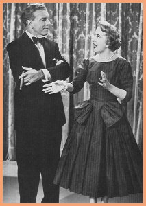 George Burns and Gracie Allen.