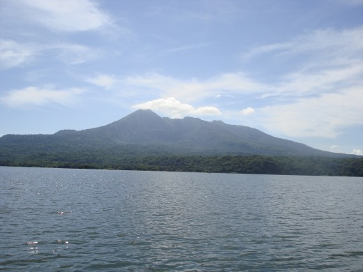 Volcano Mombacho, the source of the islands.