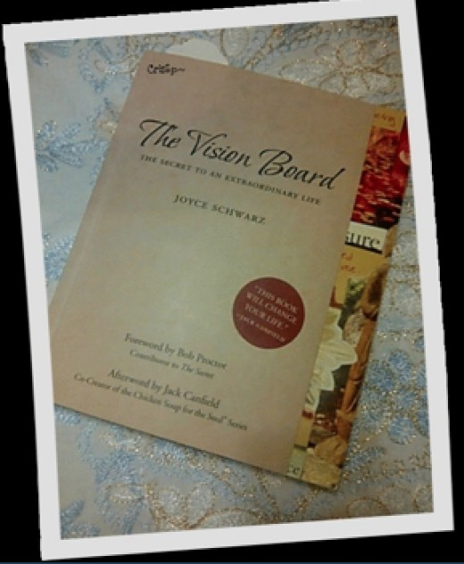 The Vision Board-The Secret to An Extraordinary Life by Joyce Schwarz will help you discover who you are, create your personal vision board and ultimately achieve what you want most in life.