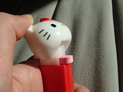 Hello Kitty PEZ dispenser