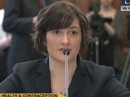 Sandra Fluke finally got to have her say, after Limbaugh's scathing remarks.