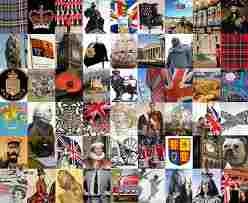 """Things seen to be British...but do they add up to a national characteristic called """"Britishness?"""""""