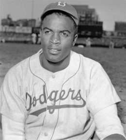 Jackie Robinson, baseball's racial trailblazer