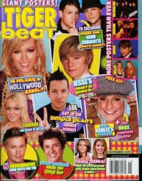 I WISH TIGER BEAT THE BEST. WITHOUT MY MONEY. OR MY GRANDKIDS' MONEY. ACTUALLY MY GRANDKIDS DO NOT HAVE ONE ISSUE OF THIS PUBLICATION IN THEIR HOUSE.