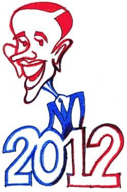 Barack Obama, 2012, for sure!