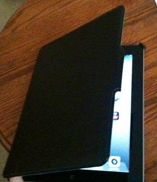 With an iPad Cover