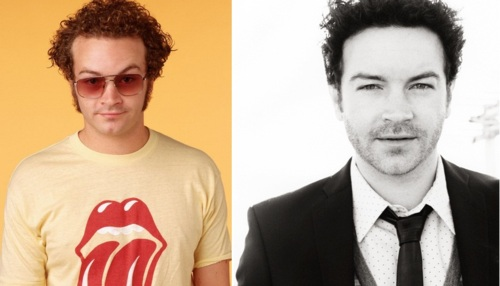 Danny Masterson, during the show and now
