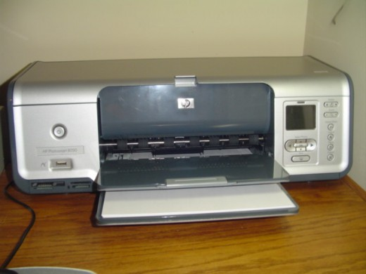 Photosmart Printer listed and sold on eBay