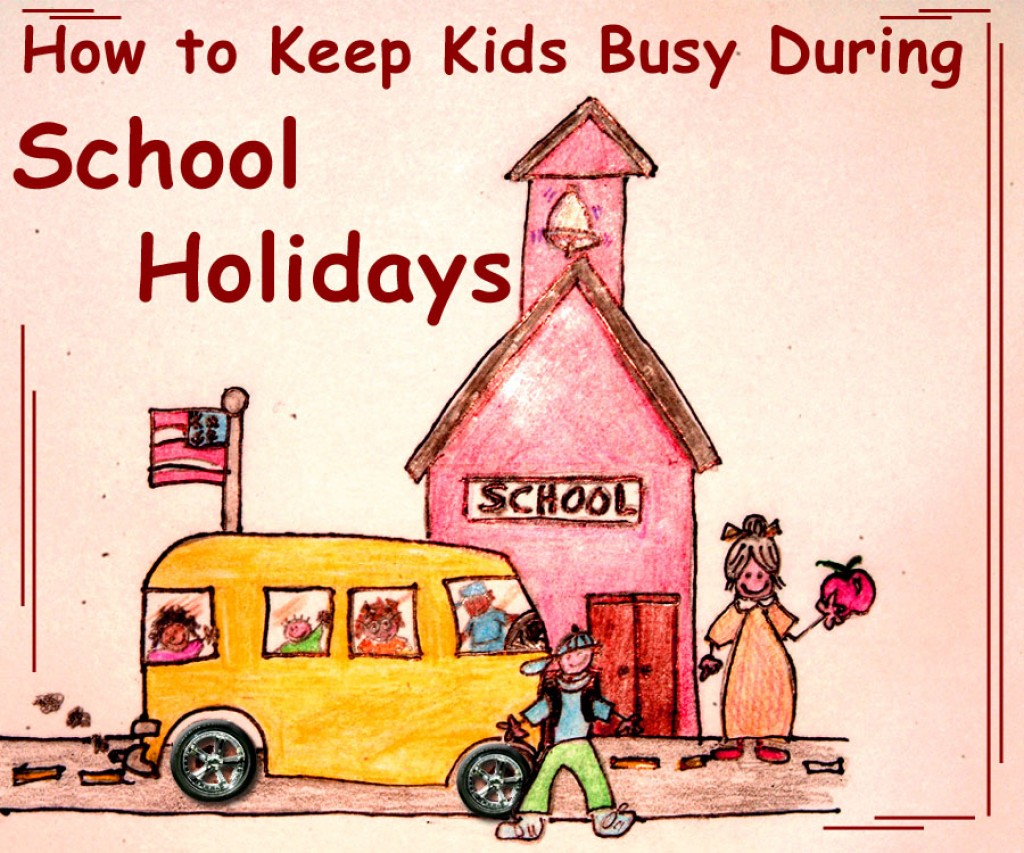 what i did during in school holidays School holidays definition: the period during which schools are closed - in the summer , at christmas and easter   | meaning, pronunciation, translations and examples.