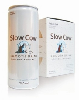 The Slow Cow Anti-Energy Drink, a parody of the Red Bull line of Energy Drinks.