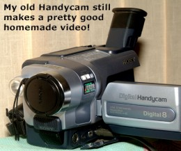 A cell phone, Smart Phone, or an old video camera can make creating videos a fun School Holiday Activity!