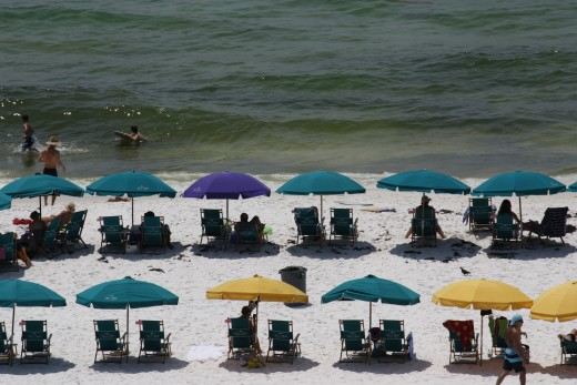 Our family's vacation to Destin, Florida.
