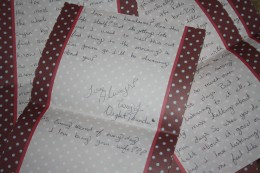 A letter written to my hubby while he was on his 15 month deployment 2007-2008