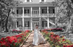 Tullis Toledano Manor in Biloxi, built in 1856. One of the many antebellum mansions in Biloxi.