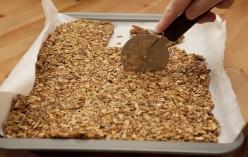 Dairy-Free, Gluten Free Chocolate Coated Granola Bars