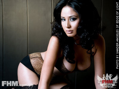 Katrina Halili in the February 2008 issue of FHM Philippines