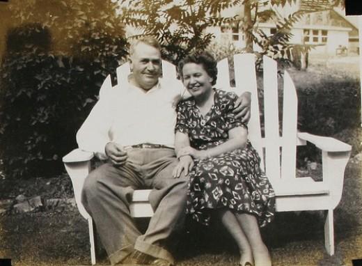 My Grandpa and Grandma Anderson