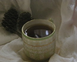 Japanese and Chinese tea is drank unadorned, without cream, sugar, milk or honey.