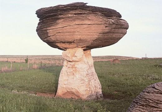 Mushroom Rock Kansas, USA