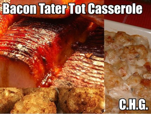 Here is one of the best recipes ever for Bacon Tater Tot Casserole. If your looking for one of the best casseroles in the world here it is.