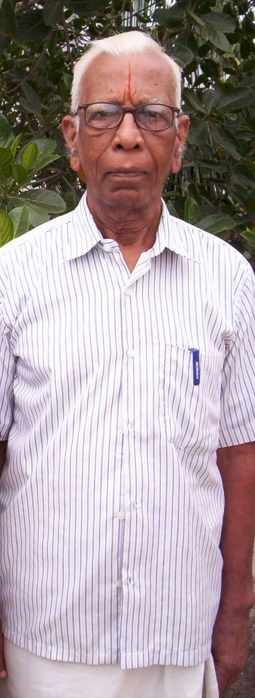 Grandpa Chakravarthi who lived a principled life till the end