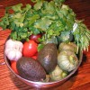 Delicious Tomatillo and Tomato Salad