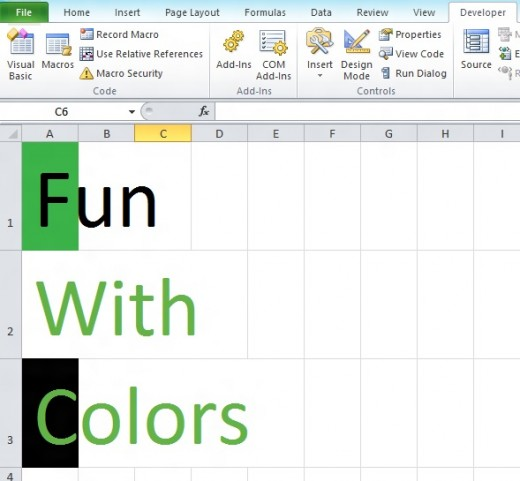 VBA How To Change Excel Font And Cell Background Color