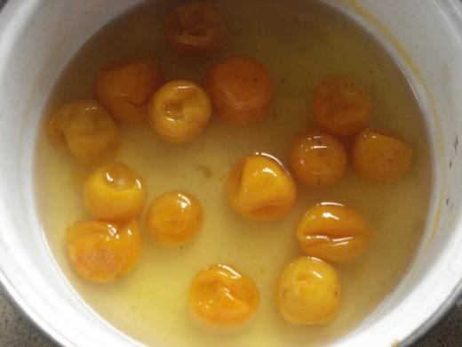 Cumquats in Syrup