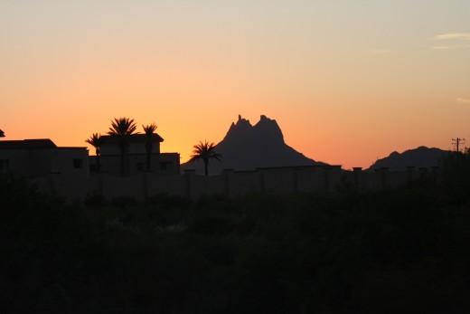 Sunset, Las Tetas de Cabra