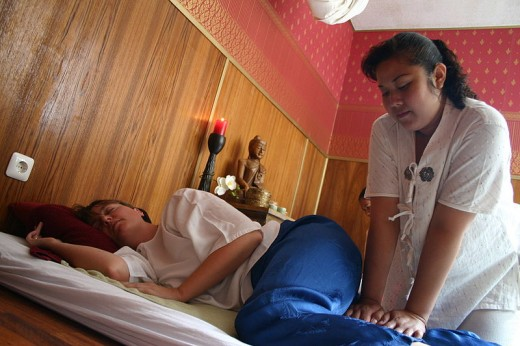 You need a traditional Cambodian massage when in Siem Reap