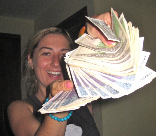 An instant millionaire in Cambodia!