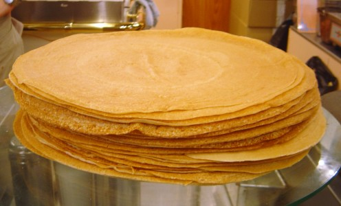 Stacked Crepes