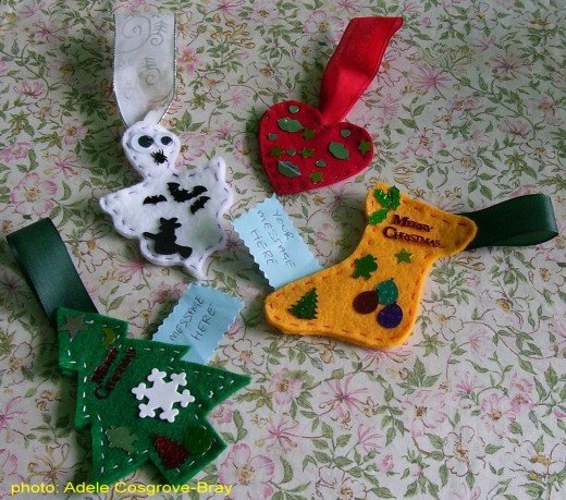 Simple-to-sew decorations for all occasions.