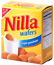 Box of Nilla Wafers