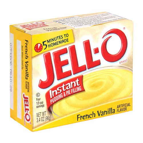 Jello Instant Pudding French Vanilla Mix