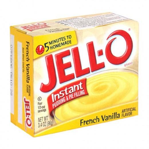 Jello Instant Pudding French Vanilla Mix