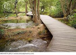 The walking trails are easy to follow and provide good walking for the majority of visitors.