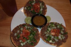 How to Make Beef and Bean Tostadas-My Way