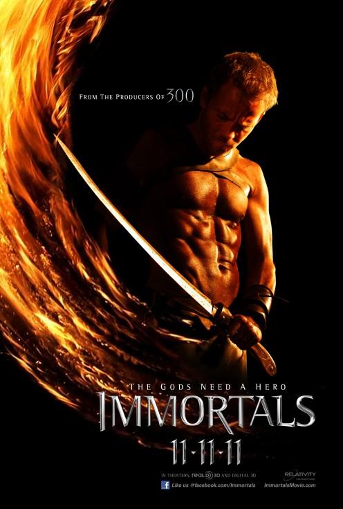 Henry Cavill in The Immortals